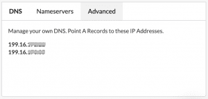 Set your A records to these Pressable IP addresses.