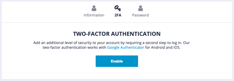 Two-Factor Authentication MPCP