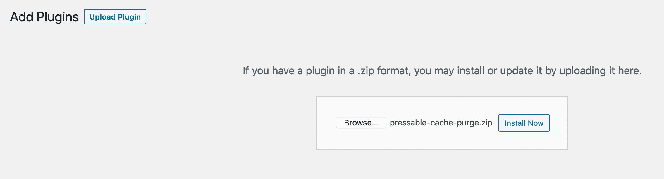 Adding the WordPress Purge Object Cache Plugin | Pressable