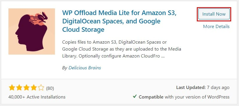 WP Offload Plugin by Delicious Brains.