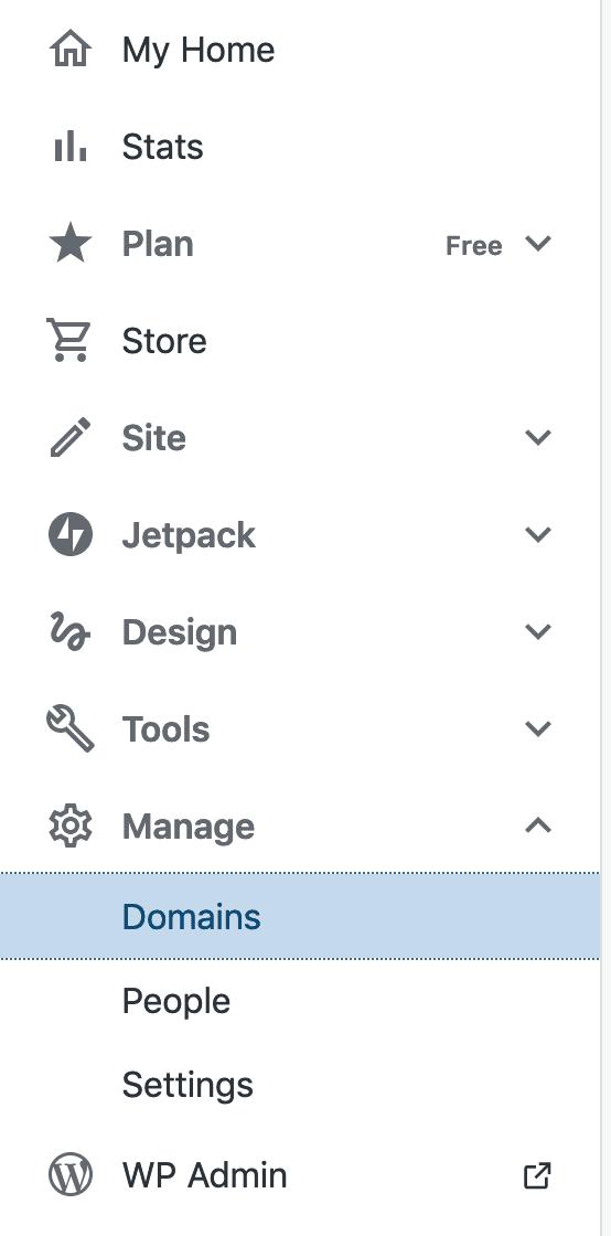 Pressable domains dashboard.